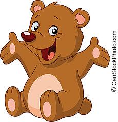 Fröhlichen Teddybär