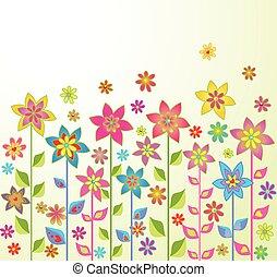 Frühlingsblumen.