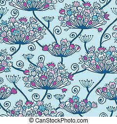 Frühlingsblumen ohne Muster