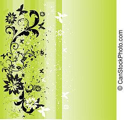 Frühlingsgrüner Hintergrund
