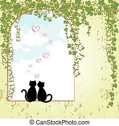 Frühlingskatzen-Dating