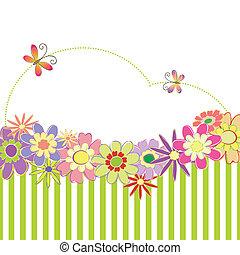 Frühlingssommer farbenfroh