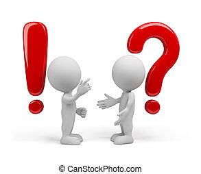Frage - die Antwort