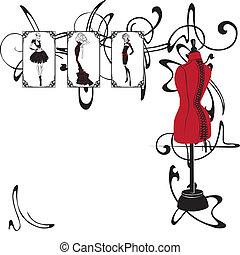 Frame und Modedesign