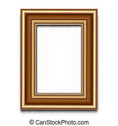 Frame Vektor für Foto oder Bild