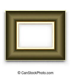 Frame Vektor für Foto oder Bild.