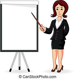 Frauen, die eine Ausbildung halten.