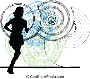 Frauen-Illustration