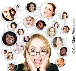 Frauen und soziale Netzwerke
