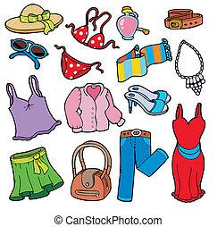 Frauenkleidungssammlung