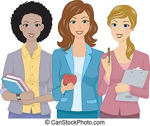 Frauenlehrer.