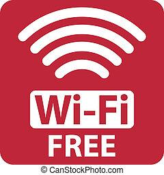 Freies Wi-Fi-Zeichen