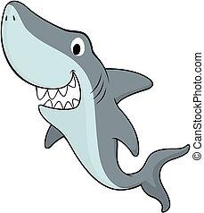 Freundlicher Hai
