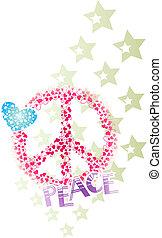 Frieden, Herz und Sternenbanner