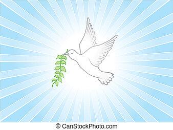 Friedens Hintergrund