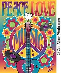 Friedensliebe Musik.