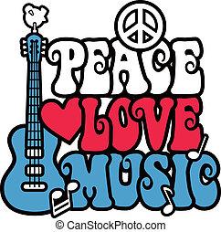 Friedensliebe und Musik