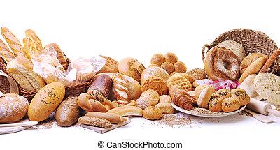 Frische Brot-Essen-Gruppe