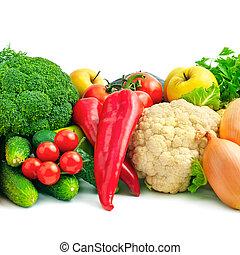 Frische Früchte und Gemüse.