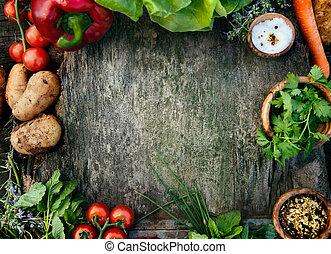 Frisches Gemüse.
