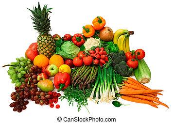 Frisches Gemüse und Obst