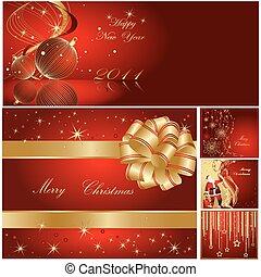 Frohe Weihnachten und frohes neues Jahr