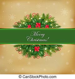Frohe Weihnachtskarte