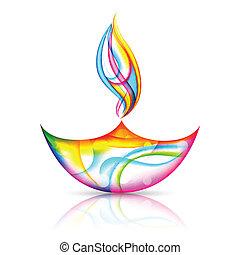 Frohes Diwalifest.