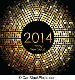 Frohes neues Jahr 2014.