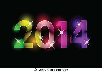 Frohes neues Jahr - 2014
