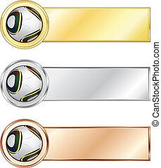 Fußball-Medaillen