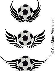 Fußball mit Flügeln