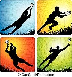 Fußball Torhüter