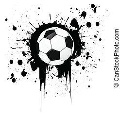 Fußballball.
