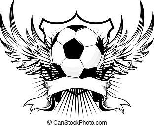 Fußballinsignie