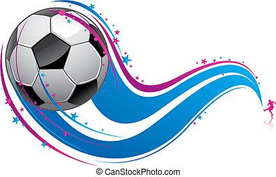 Fußballmuster