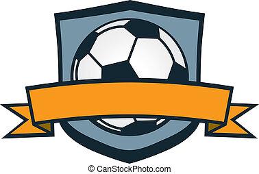 Fußballteam-Wappen