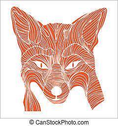 Fuchs-Tiere-Symbol