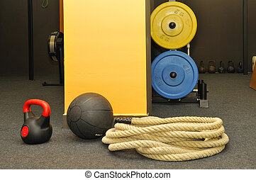Funktional - Fitness und Crossfit.