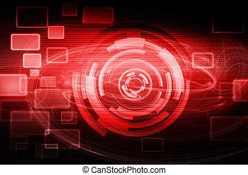 Futuristischer Technologie-Hintergrund