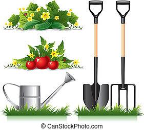Gärten verwandte Gegenstände