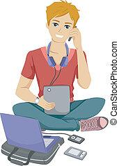 Gadget Teen.