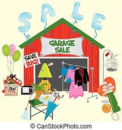 Garagenverkauf!