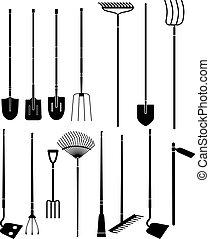 Gartenhandwerkzeuge