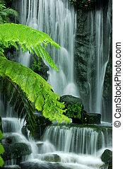 Gartenwasserfälle