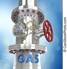 Gaspipeline - Konzept