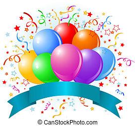 Geburtstagsballons Design
