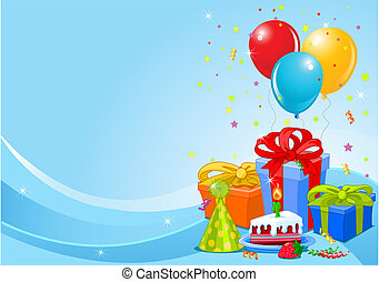 Geburtstagsparty Hintergrund