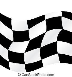 Gecheckte Flagge