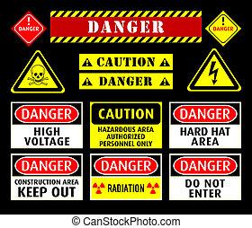 Gefährliche Warnzeichen